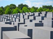 Holocaustgedenkteken, Berlin Germany Royalty-vrije Stock Afbeeldingen