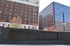 Holodomor folkmordminnesmärke i Washington, DC Fotografering för Bildbyråer
