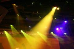 Holofote no teatro Imagem de Stock Royalty Free