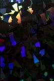 Holograficznej dyskoteki tęczy Abstrakcjonistyczny Błyszczący tło Fotografia Royalty Free