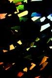 Holograficznej dyskoteki tęczy Abstrakcjonistyczny Błyszczący tło Obrazy Royalty Free