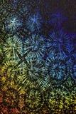 Holograficznej dyskoteki tęczy Abstrakcjonistyczny Błyszczący tło Zdjęcia Stock