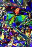 Holograficznej dyskoteki tęczy Abstrakcjonistyczny Błyszczący tło Obraz Stock