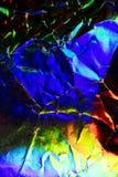 Holograficznej dyskoteki tęczy Abstrakcjonistyczny Błyszczący tło Zdjęcia Royalty Free