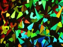 Holografische abstracte kleurrijke regenboogachtergrond Royalty-vrije Stock Foto's