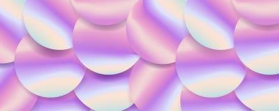 Holografische groot sequined stoffen textiel, roze purpere en violette lilac glinsterende lovertjes Lovertjestextuur Stock Foto's