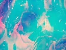 Holografische multicolored echte verfrommelde textuurachtergrond royalty-vrije stock afbeelding