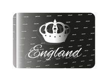 Holografische sticker Engeland Stock Afbeelding
