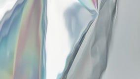 Holografische vloeibare animatie als achtergrond vector illustratie