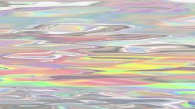 Holografische vloeibare animatie als achtergrond stock illustratie