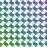 Покрашенный радугой стикер hologram Стоковые Изображения RF