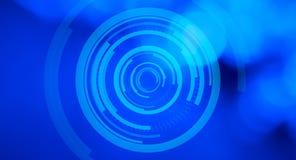 Hologram abstracte achtergrond Royalty-vrije Stock Afbeeldingen