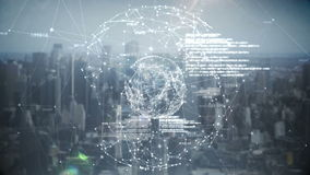Hologram för global affär