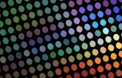 Hologram mosaic texture abstract. Rainbow colors festive creative background. Disco night decor. royalty free illustration