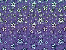 A hologram paper made of stars and different colors for backgrounds, packaging, or wallpapers.  Royalty Free Stock Photo