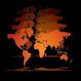 holograma świat Zdjęcia Royalty Free