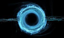 Holograma del círculo del poder Foto de archivo