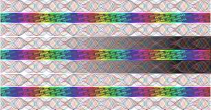 Hologramme d'arc-en-ciel Images libres de droits