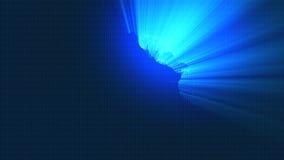 Hologramme de globe de Digital illustration libre de droits