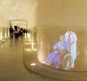 Hologramme Hospital de Sant Pau Stockfoto