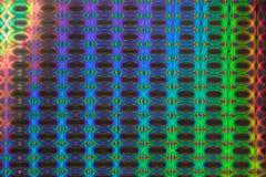 Hologrammhintergrund. Stockfoto