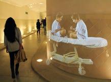 Holograms Больницы de Sant Pau Стоковое Изображение RF