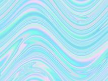 Holographic abstrakt bakgrund i pastell, neonfärg Vektor mig stock illustrationer