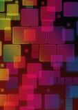 holographic bakgrund Arkivbild