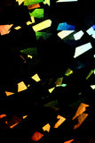 Holographic Disco Abstract Shiny Rainbow Background. Glamour Royalty Free Stock Images