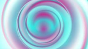 Holographic folieneonabstrakt begrepp cirklar den videopd animeringen stock video
