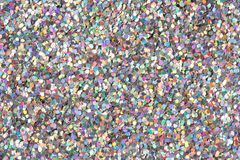 Holographic glitter texture. royalty free stock image