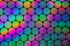 Holographic patterns Stock Image