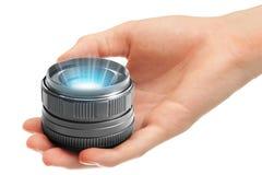 holographic projektor Arkivbild