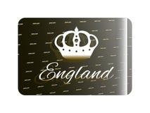 Holographic sticker England Stock Photos