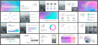 Holographic template presentation Stock Photography