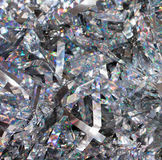Holographic Tinsel Background Stock Photo