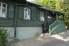 Holokaust ekspozycja w Vilnius fotografia stock
