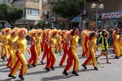 Holon Adloyada. Carnaval de Purim. Israel Foto de archivo