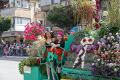 Holon Adloyada. Carnevale di Purim. Israele Immagini Stock Libere da Diritti