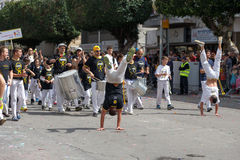 Holon Adloyada. Purim καρναβάλι. Ισραήλ Στοκ εικόνες με δικαίωμα ελεύθερης χρήσης