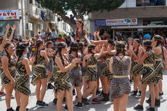 Holon Adloyada . Purim carnival . Israel stock images