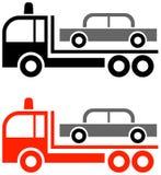holownicza ciężarówka ilustracji