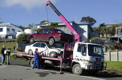 Holownicza ciężarówka Fotografia Royalty Free