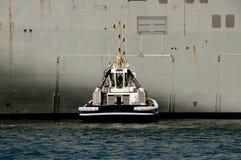 Holownik łódź obraz stock