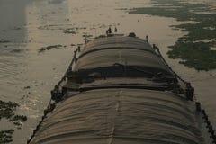 Holownik łódź Zdjęcia Royalty Free