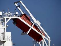 Holownik łódź w operacjach Obrazy Stock