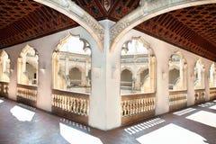 Hols of Claustro de Saint Juan de los Reyes stock photography