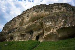 Holstad tepe-Kerman in de Krim Bakhchysarai stock afbeelding