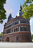 The Holstein Gate (Holstentor) Royalty Free Stock Images