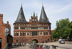 The Holsten Gate Royalty Free Stock Images